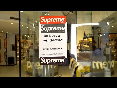 Visiting The Fake Supreme Store in Barcelona