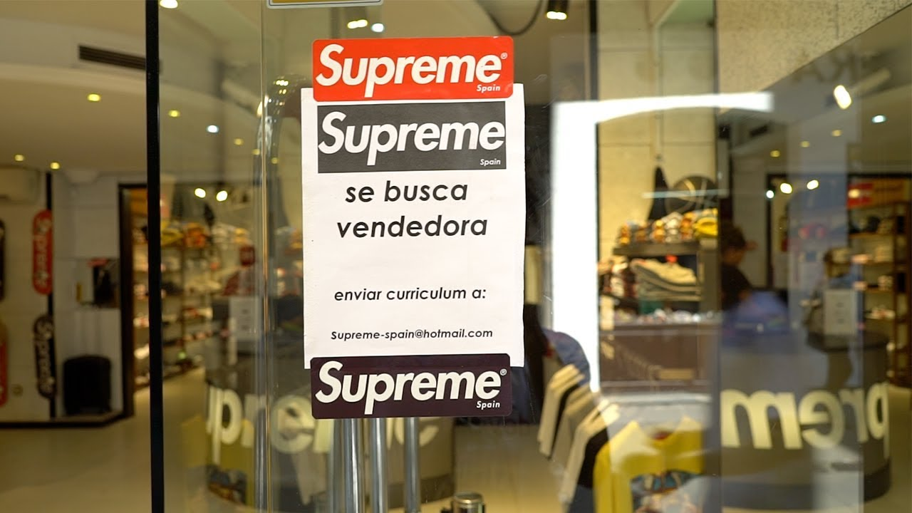 Visiting The Fake Supreme Store in Barcelona - YouTube cf18bfd3ac