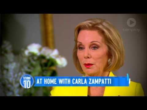 At Home With Carla Zampatti