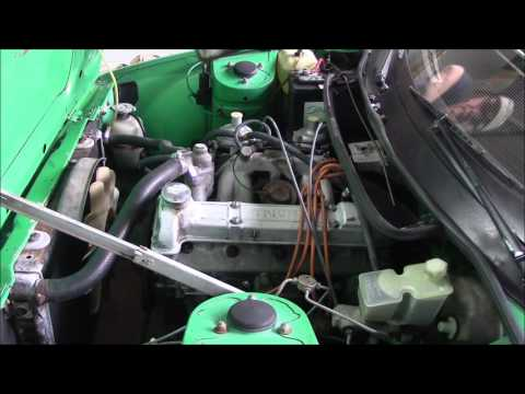 4 TR7 Project Weekend 3 Engine Bay episode