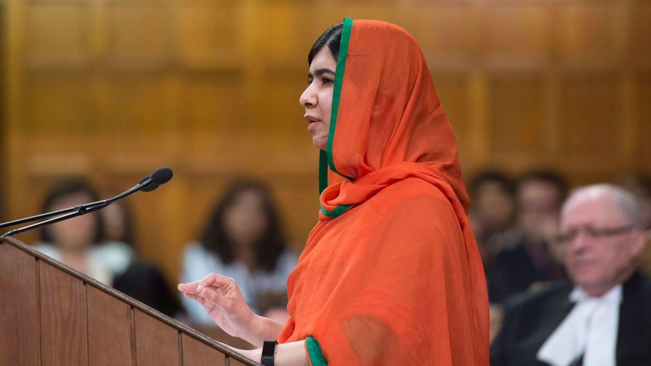 Malala Yousafzai becomes honorary Canadian