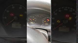 VW Polo 1,4 MPI 2007 rok benzyna znikające zegary podczas odpalania