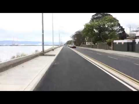 New Clontarf Cycle Path nears completion!