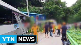 울릉도에서 관광버스 2대 충돌...34명 부상 / YT…