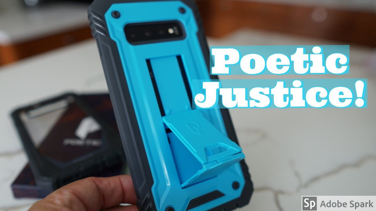 poetic galaxy s10 case