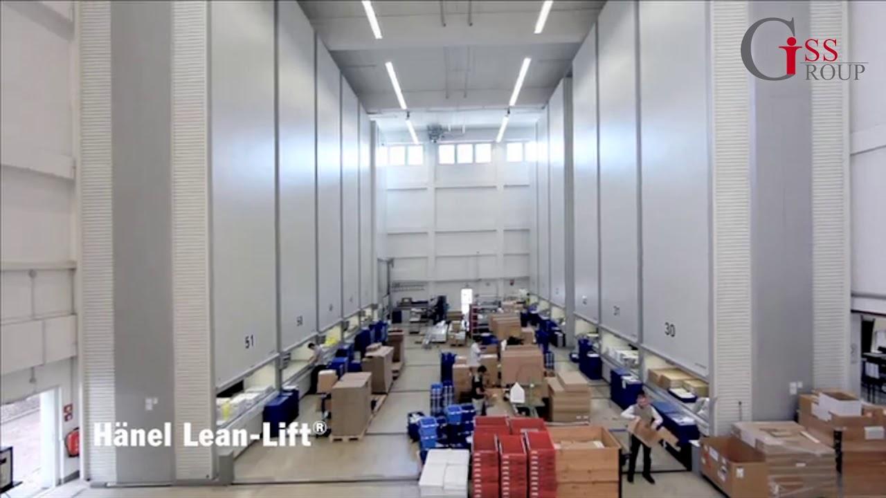 Промышленные системы хранения HÄNEL LEAN-LIFT