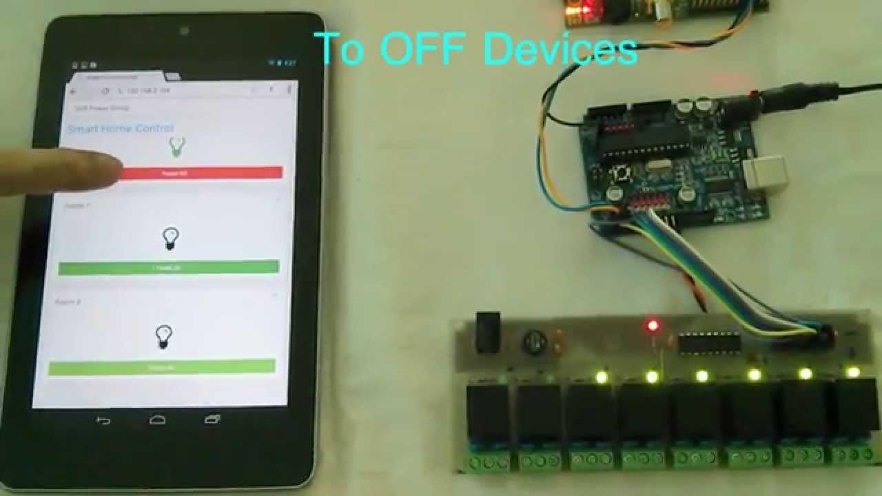 Raspberry pi arduino smart home automation youtube
