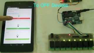 Raspberry Pi + Arduino Smart Home Automation