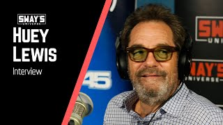 Huey Lewis Gives Advice on How to Cope with Fame & Shares Stories with Icons | SWAY'S UNIVERSE