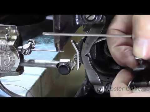 Швейная машина Подольская. Обрыв верхней нити в швейной машинке.Ч.1.Видео №72.