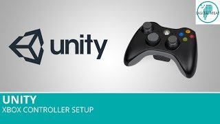 Xbox Controller Setup For Use In Unity