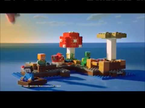 LEGO Minecraft Ocean Monument commercial (2017)
