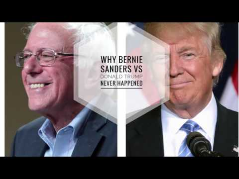 Why Bernie Sanders Vs Donald Trump Never Happened