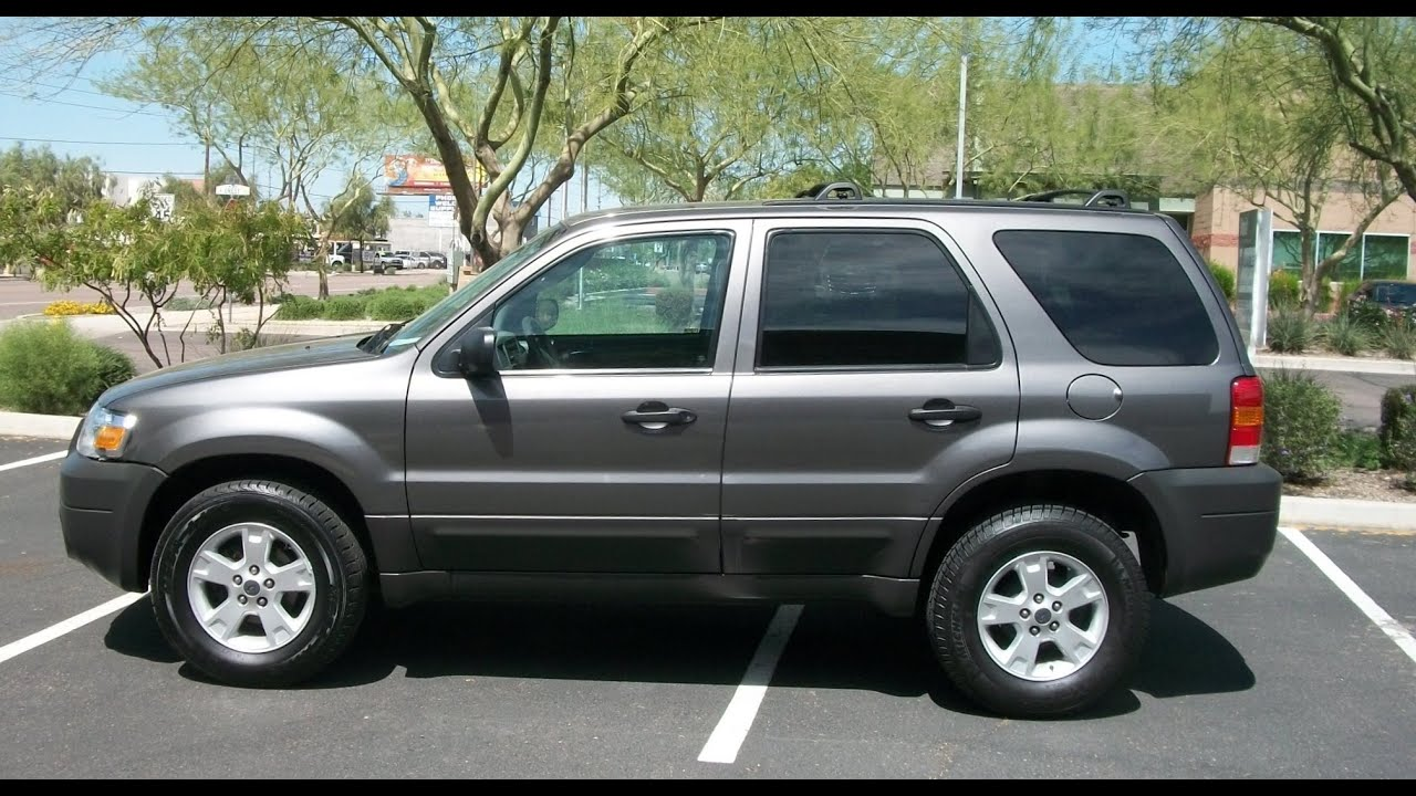Ford Escape Dr L XLT Leather Sunroof Loaded PR YouTube - 2005 escape