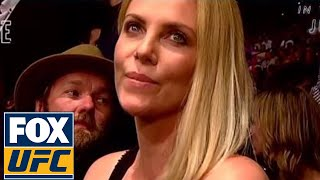 Charlize Theron Interview | UFC ON FOX