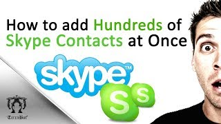 Want many skype people? Best skype multiple people add method to your contacts!