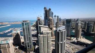 Trident Grand Residence , Penthouse view, Dubai Marina , 04 February 2011