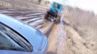 Что делать если машина застряла в снегу, песке или грязи?(Застряла машина в снегу, грязи, песке, как выбраться, что делать, как выбраться на машине из снега, грязи..., 2016-10-25T13:34:56.000Z)