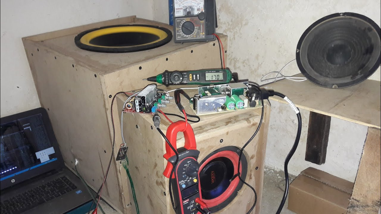 Woow Tpa3116d Class D Amplifier 24v 5a Smps 6 To 12inch Subwoofer Using Tda2009a 12 Watt 15x2 Audio Speaker