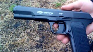 пневматичний пістолет тт gletcher bb