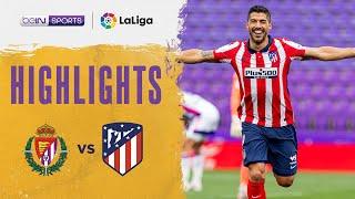 Real Valladolid 1-2 Atletico Madrid   LaLiga 20/21 Match Highlights