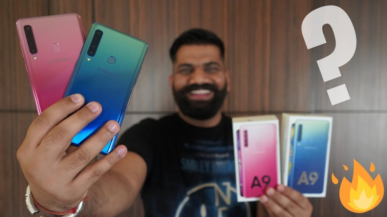 Download Samsung Galaxy A9 Unboxing & First Look - 4 Cameras🔥🔥🔥