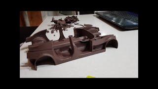 Постройка Модели Автомобиля Из Пластилина 3. Рама (3 Часть)