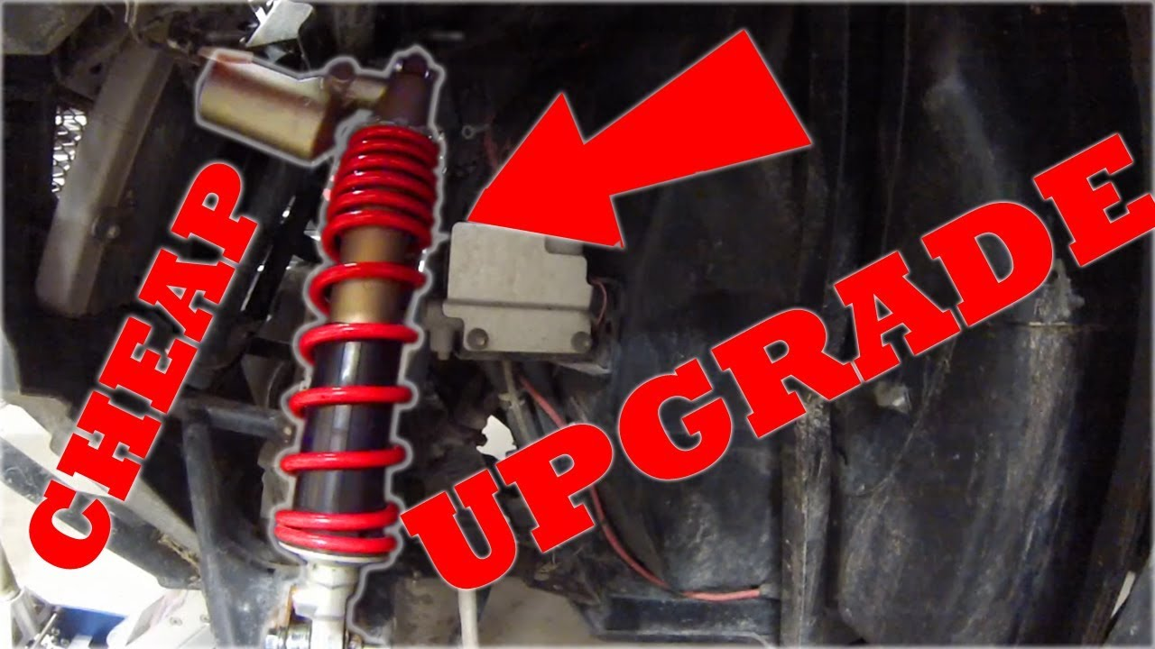 Upgrade RZR 570/900/800 Suspension for Cheap!