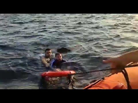 تركيا: انقاذ 14 مهاجرا والبحث عن طفل مفقود  - نشر قبل 3 ساعة