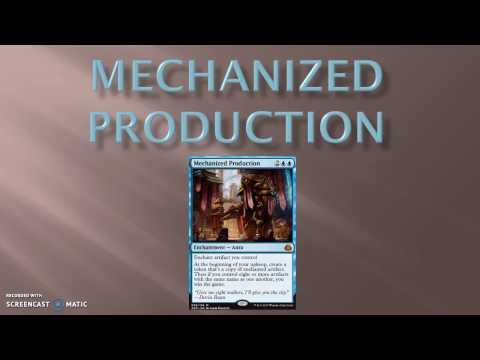 Standard Mechanized Production Deck