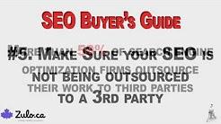 Oakville SEO Expert - Buyer's Guide to Hiring An SEO Company