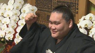大相撲夏場所で初優勝し、大関昇進も事実上決まった関脇照ノ富士関(2...