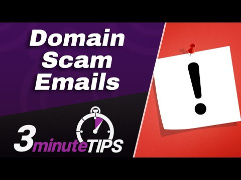 Domain Name Scam Emails - Is This Domain Renewal Email For Real? How To Know For Sure!