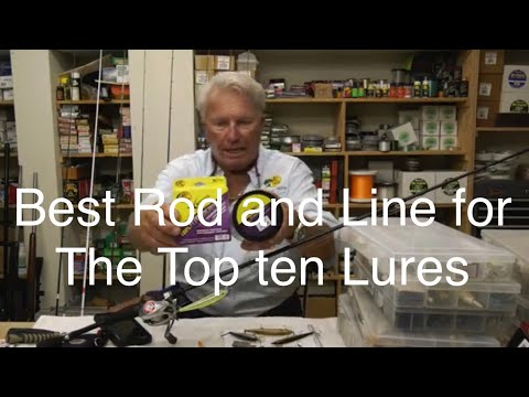 Best Rod And Line For Top 10 Bass Lures