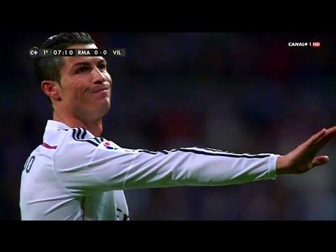 Cristiano Ronaldo Vs Villarreal Home 14-15 HD 720p By zBorges