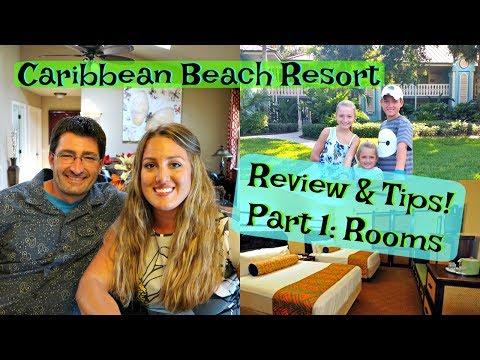 Disney's Caribbean Beach Resort Review Part 1:  Rooms, Refurbishment And TIPS!!
