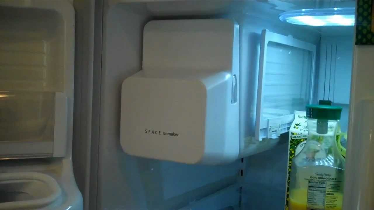 Clearing An Ice Dam From A Samsung Ice Maker Fixitnow Com