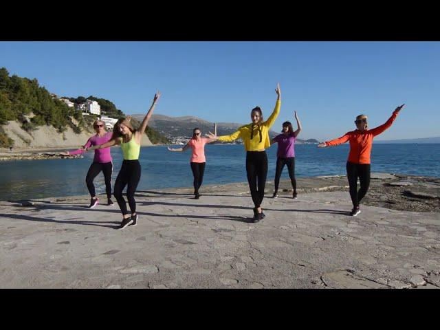 Zumba Split  Wisin  Vacaciones  Choreo by Tony Mosquera