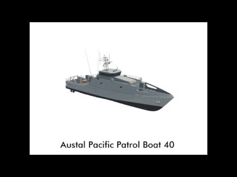 Pacific Patrol Boat Replacement - Render Flyaround May 2016
