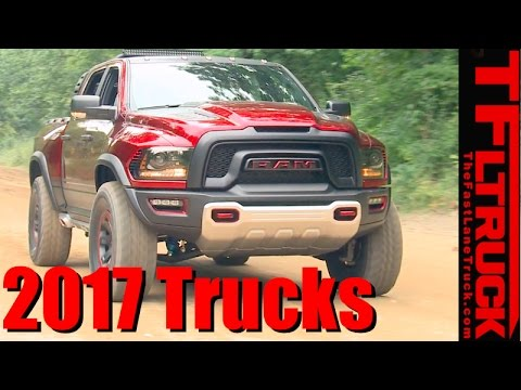 Top 7 Brand New Pickup Trucks for 2017: Counted Down