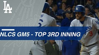 Watch the eventful 3rd inning of NLCS Game 5