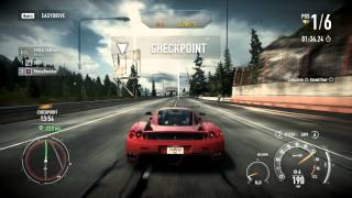 Need For Speed: Rivals PC - Fully Upgraded Ferrari Enzo Ferrari Gameplay Final Race - Chapter 8