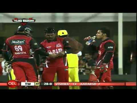 CCL2 Semi Final TELUGU WARRIORS V/S CHENNAI RHINOS