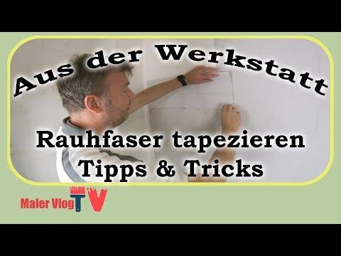 Rauhfaser Tapezieren Mit Tipps U0026 Tricks   So Klappt Es Bei Jedem   Most  Popular Videos