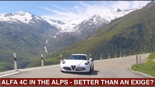 Alfa Romeo 4C Road Test In the Alps - As good as an Exige?