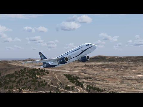 FSX Olympic Airbus Rhodes Mykonos