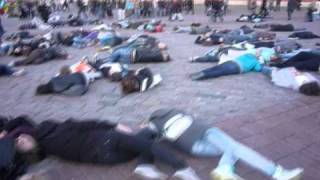 Flashmob Surrogates (SA Wardega) www.sawardega.pl