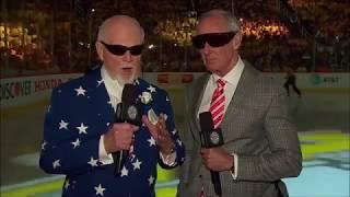 2017 Stanley Cup Finals Game 1 Intro/Anthems Predators vs Penguins (CBC)