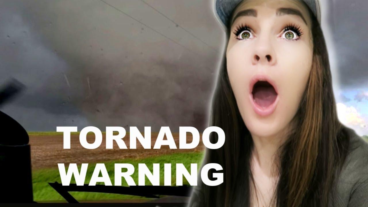 Scary Tornado Warning Youtube