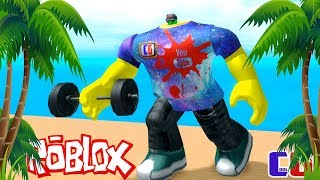 I continue to SWING! BOXING SIMULATOR in Roblox #2 videos for Kids Battle cartoon heroes Boxing Simulator